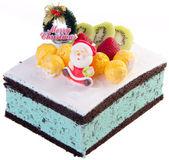 Ciasto, placek lody — Zdjęcie stockowe