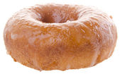 Sugary donut on a background — Stock Photo