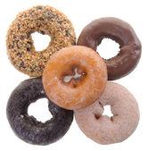 Donut isolated on background — Stock Photo