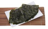Seaweed. dry seaweed on background — Stock Photo
