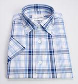 Shirt. mens shirt folded on a background — Stock Photo