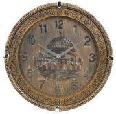 时钟。背景上的时钟 — 图库照片