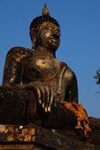 Thailand landmark. Ancient buddha statue. Sukhothai Historical P — Stok fotoğraf