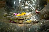 Thailand landmark. Ancient buddha statue. Sukhothai Historical P — Stockfoto