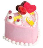 Cake. ice cream cake on background — Stockfoto