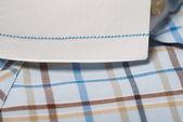 Shirts closeup. man shirts closeup — Stock Photo