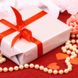 Stock Photo: Exciting gift for St. Valentine Day