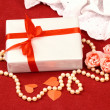 Stock Photo: Exciting gifts for St. Valentine Day
