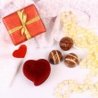 Stock Photo: Gifts for St. Valentine Day