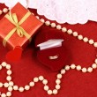 Stock Photo: Present for St. Valentine Day