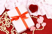 Beautiful gifts for St. Valentine Day — Stock Photo