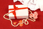 Exciting gifts for St. Valentine Day — Stock Photo