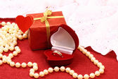 Gift for St. Valentine Day celebration — Stock Photo