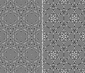 Seamless Floral Patterns — Vector de stock