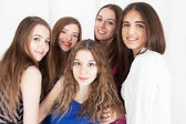 Photo shot of young beautiful women — Stock Photo