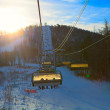 Chairlift seen from below — Stock Photo #43017261