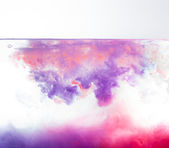 Multi Color Liquid Splash — Стоковое фото