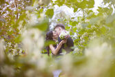 Young beautiful married couple — Stock Photo
