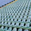 Seat for spectators in stadium — Stock Photo #16557339