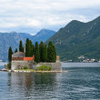 St. George's Island near of town Perast in Bay of Kotor, Montenegro — Stock Photo #50812635