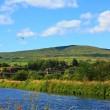 Summer landscape in Scotland - Stockfoto