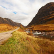 Glencoe, Scottish highlands, Scotland, UK — Stock Photo