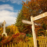 Glencoe,War Memorial, Scottish highlands, Scotland, UK — Stock Photo