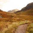 Glencoe in October, Scottish highlands, Scotland, UK — Stock Photo #14277981