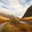Glencoe, Scottish highlands, Scotland, UK — Stock Photo #14278047
