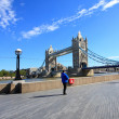 Tower Bridge, London, Summertime — Stock Photo