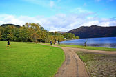 Loch Lomond in October, Scotland, UK — Stock Photo