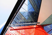 современная архитектура в лондоне — Стоковое фото