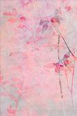 Güzel, narin, sanatsal arka plan yaprakları ile — Stok fotoğraf
