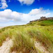 Bamburgh Castle, Northumberland — Stock Photo