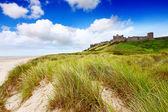Bamburgh Castle, Northumberland — Stock Photo