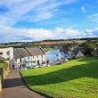 Panorama of St Andrews, Fife, Scotland — Stockfoto