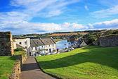 панорама сент-эндрюс, файф, шотландия — Стоковое фото
