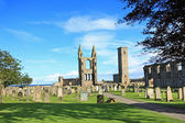 St Andrews Cathedral & St Rules Tower, Scotland — Stockfoto