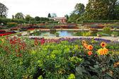 Kensington palace garden — Stock Photo