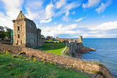Ruins of St Andrews Castle — Стоковое фото