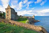 圣安德鲁斯城堡的废墟 — 图库照片