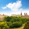 Edinburgh, Princes Gardens — Stock Photo