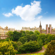 Edinburgh, Princes Gardens - Stock Photo