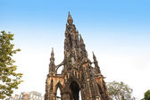 The Scott Monument, Edinburgh — 图库照片
