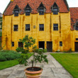 Culross Palace, Scotland - Stock Photo