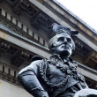 Statue of the Duke of Wellington, Glasgow Gallery of Modern Art — Stock Photo