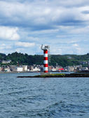 Beautiful Oban on summer time — Stock Photo