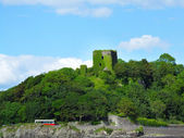 Dunollie Castle near Oban, Scotland — Stock Photo