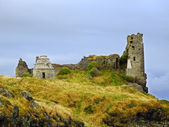 Ruins of Dunure Castle, Ayrshire — Stock Photo