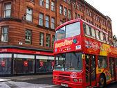 Glasgow, autobus cititour — Zdjęcie stockowe